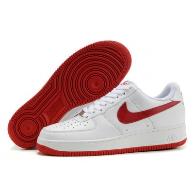 air force blanche et rouge