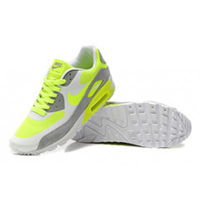 nike air blanche et jaune fluo