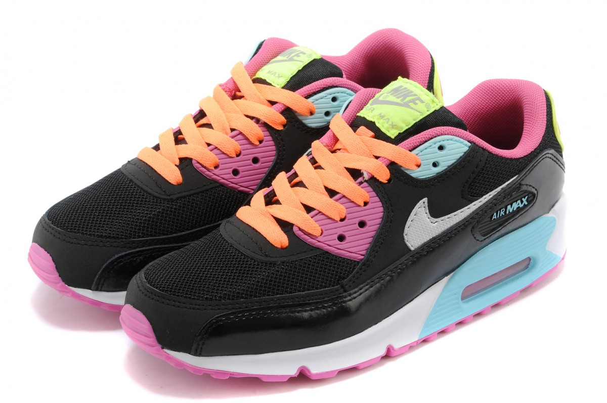 air max 90 femme rose fluo pas cher